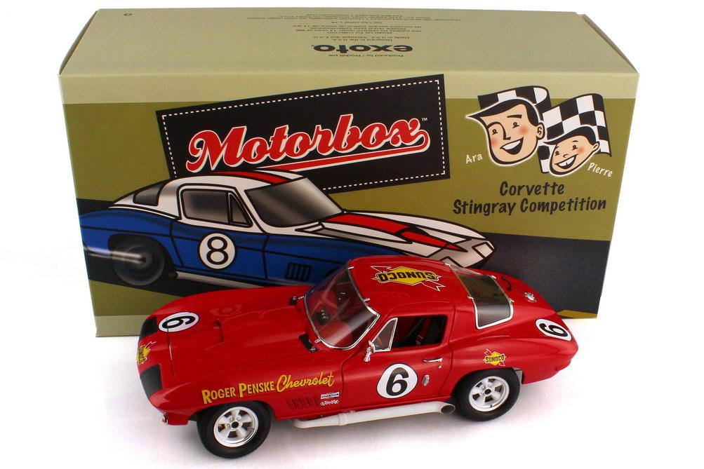 1:18 Chevrolet Corvette Sting Ray Competition Daytona 24 Hours 1967