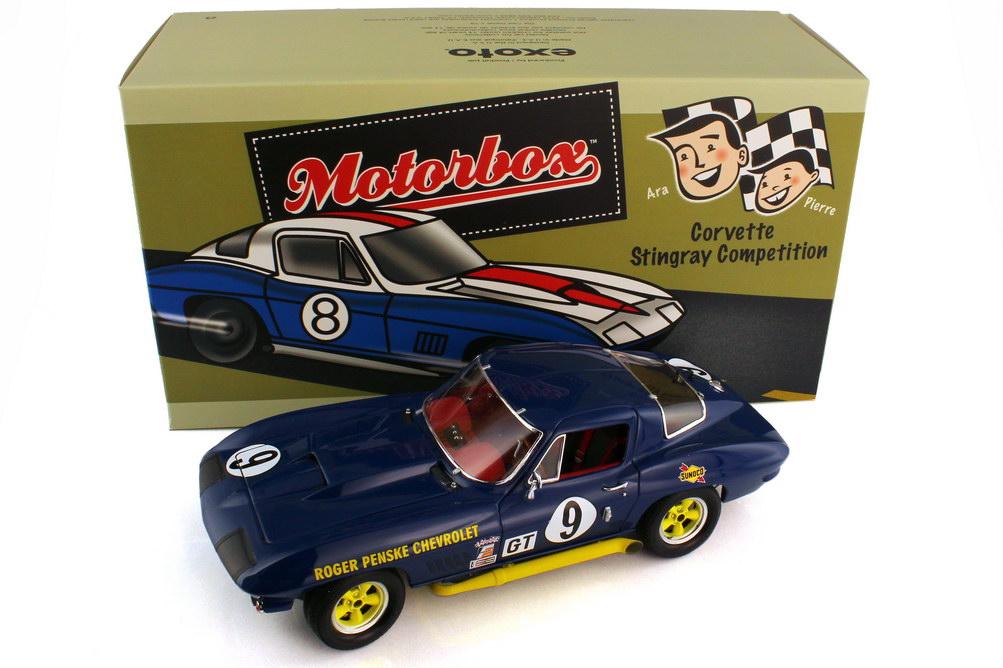 1:18 Chevrolet Corvette Sting Ray Competition Sebring 12 Hours 1966