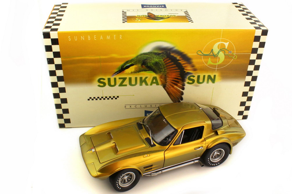 1:18 Chevrolet Corvette Sting Ray Grand Sport Coupe 1963 standox suzuka sun Effektlackierung