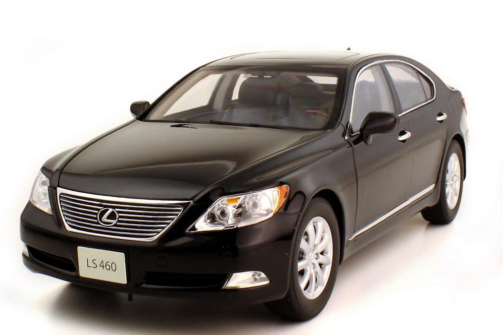 1:18 Lexus LS 460 (2007) schwarz