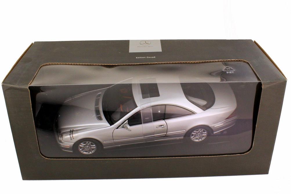 Foto 1:18 Mercedes-Benz CL 500 Coupé C215 brillantsilber-met. - Werbemodell - AUTOart B66962152