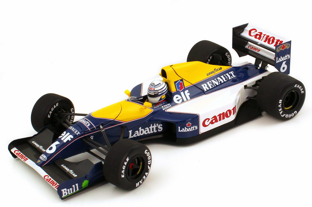 williams renault fw14 formel 1 1991 elf canon nr 6. Black Bedroom Furniture Sets. Home Design Ideas
