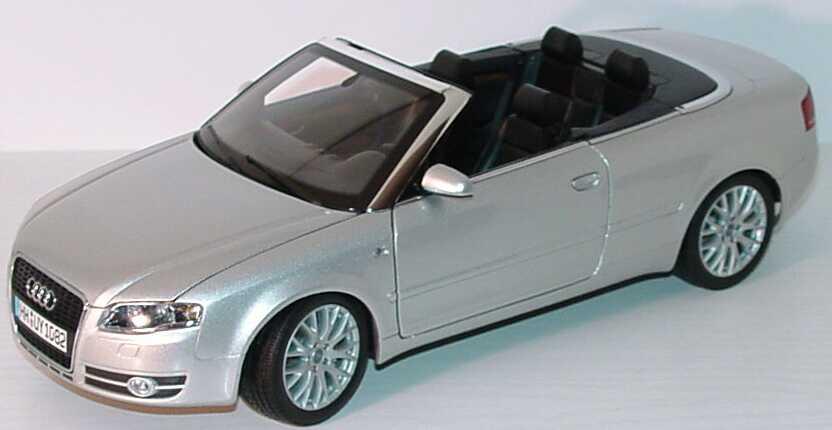 1 18 audi a4 cabrio b6 facelift 2005 lichtsilber silber. Black Bedroom Furniture Sets. Home Design Ideas