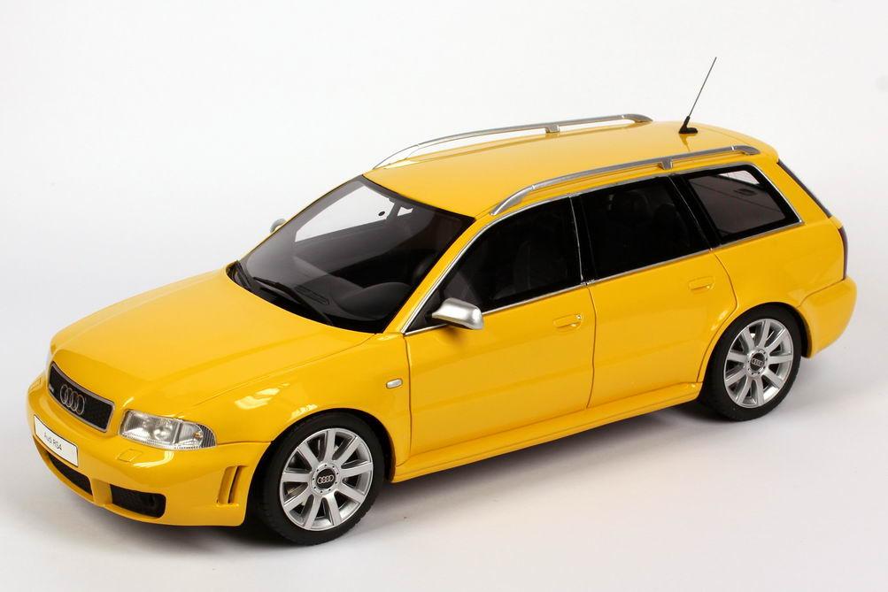 1 18 Audi Rs4 B5 Gelb Ottomobile Ot053uvi