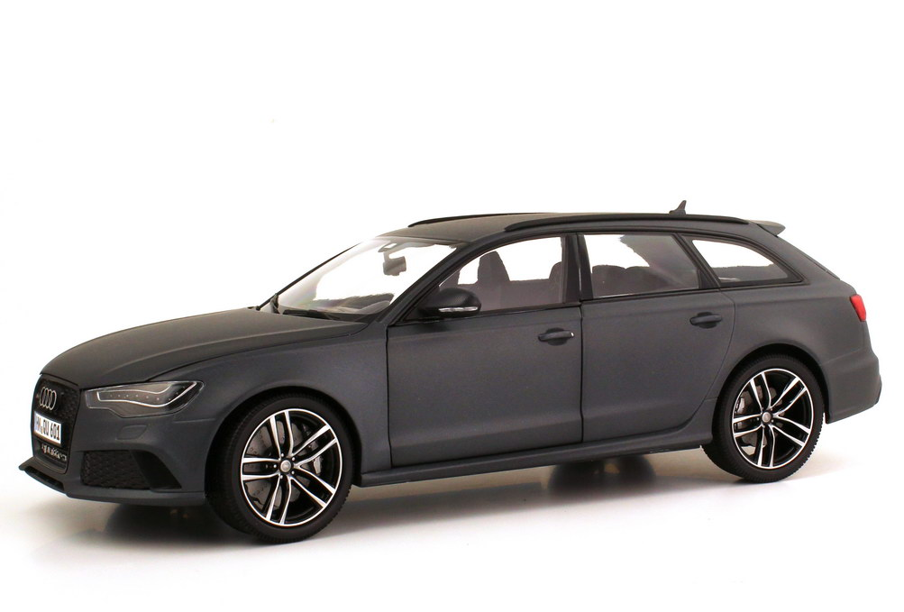 audi rs6 avant c7 daytona grau matt werbemodell. Black Bedroom Furniture Sets. Home Design Ideas