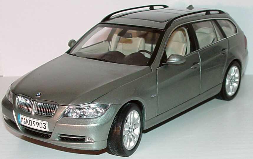 Foto 1:18 BMW 3er touring (E91) arctis-met. Werbemodell Kyosho 80430394359