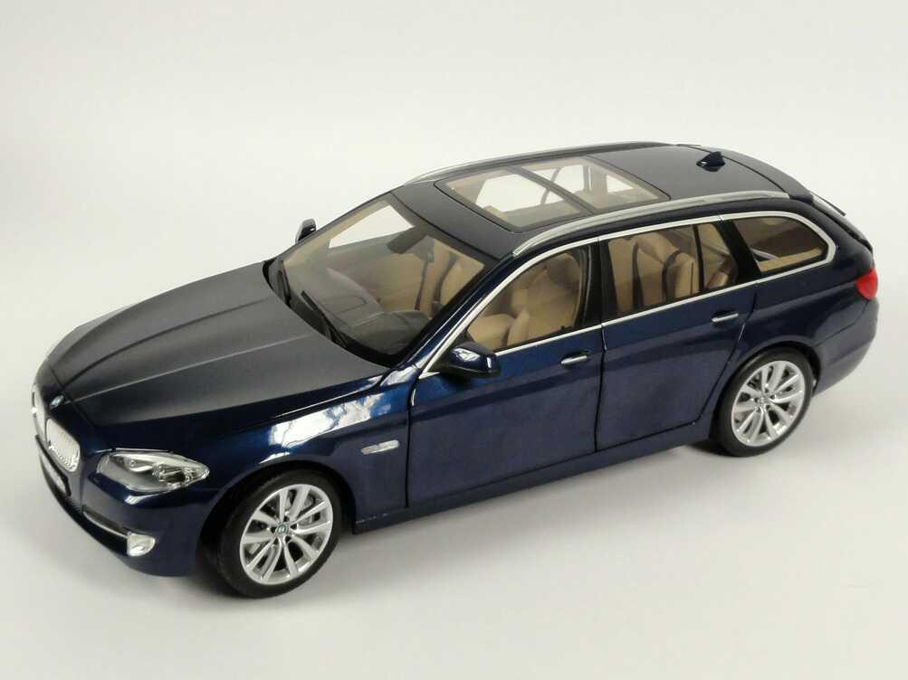 1 18 Bmw 5er 550i Touring F11 Tiefsee Blau Met