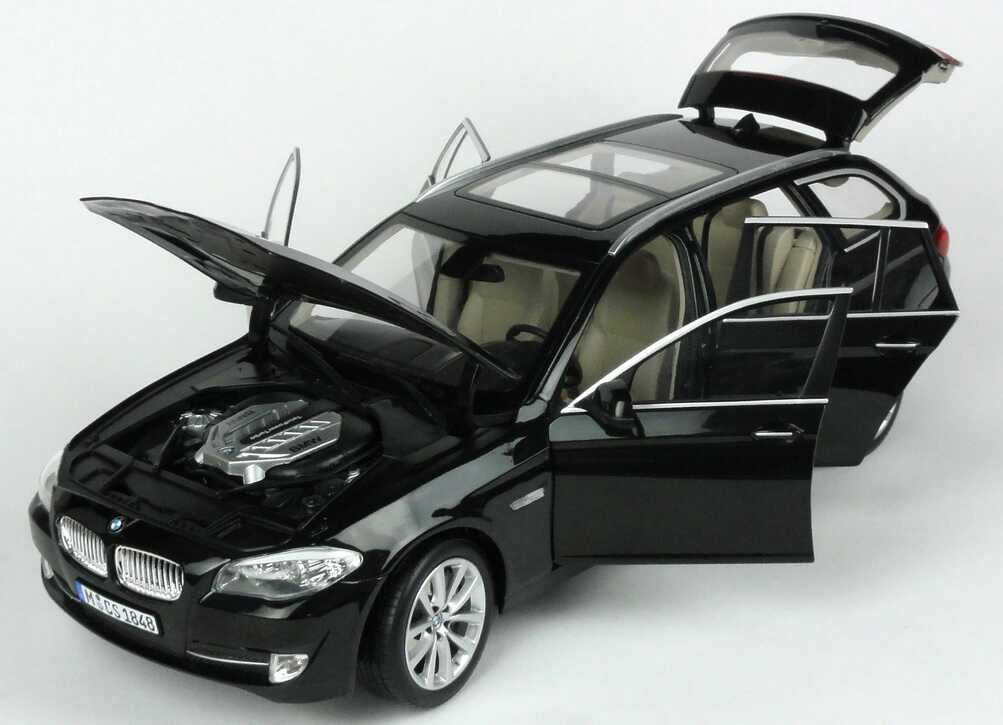 bmw 5er 550i touring f11 saphirschwarz met werbemodell norev 80432158015 bild 6. Black Bedroom Furniture Sets. Home Design Ideas