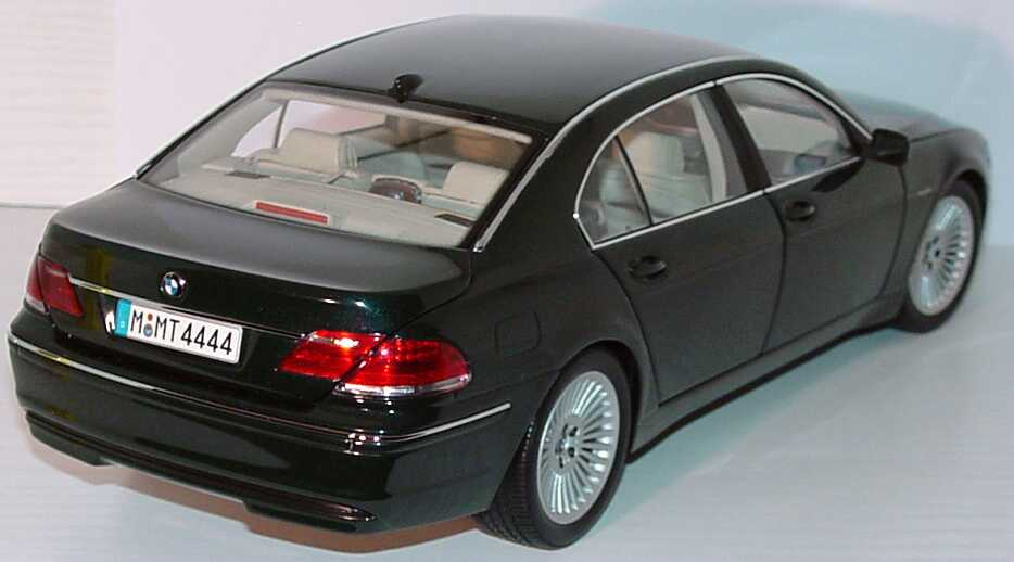 bmw 7er lang facelift e66 tiefgr n met werbemodell kyosho 80430403518 bild 3. Black Bedroom Furniture Sets. Home Design Ideas