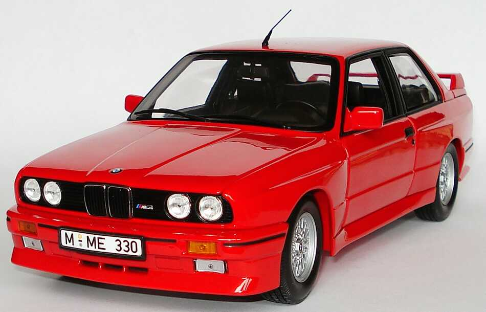 bmw m3 e30 rot werbemodell minichamps 80430148538 bild 2. Black Bedroom Furniture Sets. Home Design Ideas