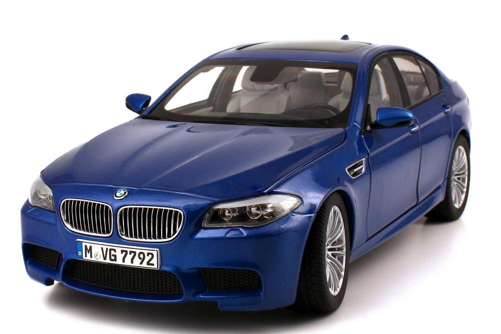 1 18 bmw m5 f10 monte carlo blau met werbemodell bmw group 80432186352. Black Bedroom Furniture Sets. Home Design Ideas