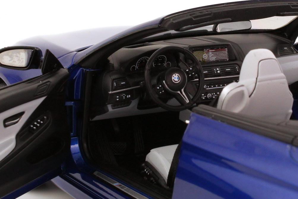 Foto 1:18 BMW M6 Cabrio (F12) san-marino-blau-met. Werbemodell BMW-Group 80432253657