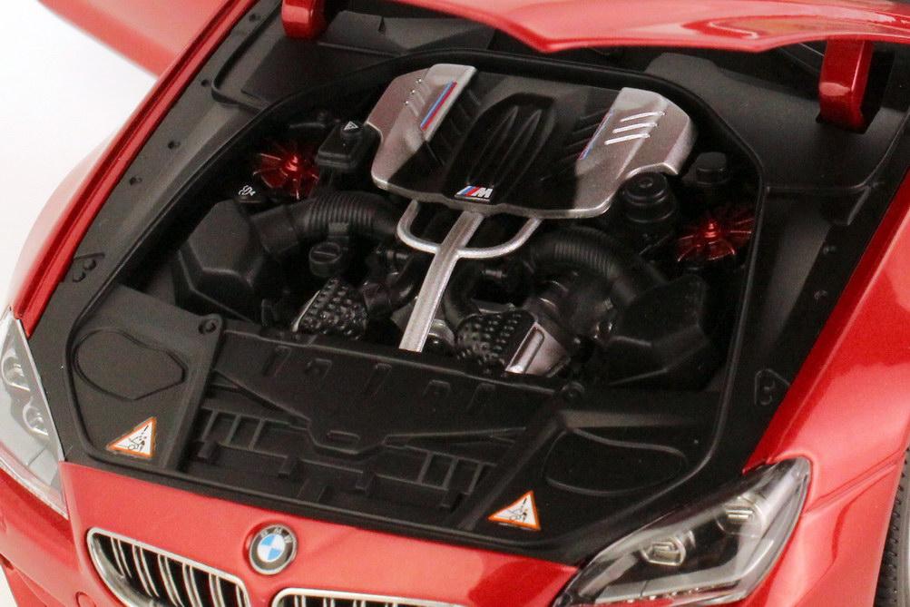 Foto 1:18 BMW M6 Cabrio (F12) saphir-orange-met. Werbemodell BMW-Group 80432253655