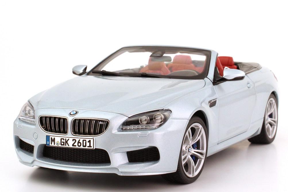 1:18 BMW M6 Cabrio (F12) silverstone-II-met. (BMW)