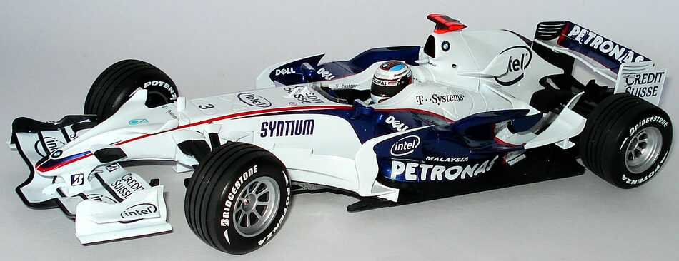 bmw sauber formel 1 2008 petronas nr 3 nick. Black Bedroom Furniture Sets. Home Design Ideas