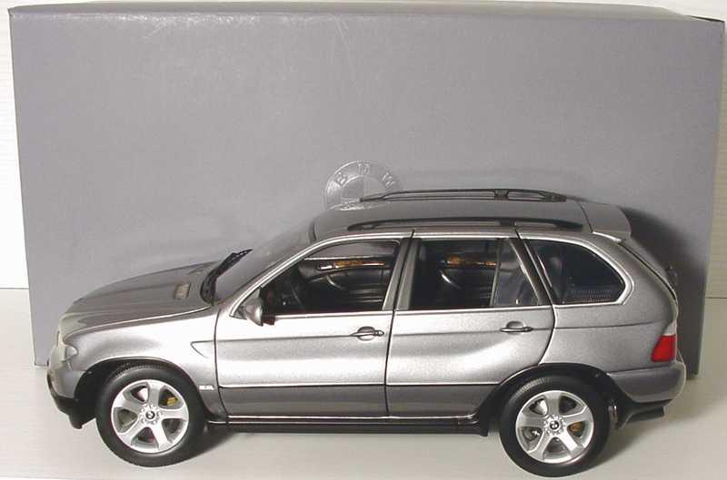 Foto 1:18 BMW X5 4.4i Facelift sterlinggrau-met. Werbemodell Kyosho 80430309116