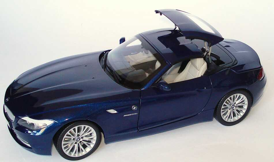 bmw z4 sdrive35i e89 tiefseeblau met werbemodell kyosho 80432147083 bild 5. Black Bedroom Furniture Sets. Home Design Ideas