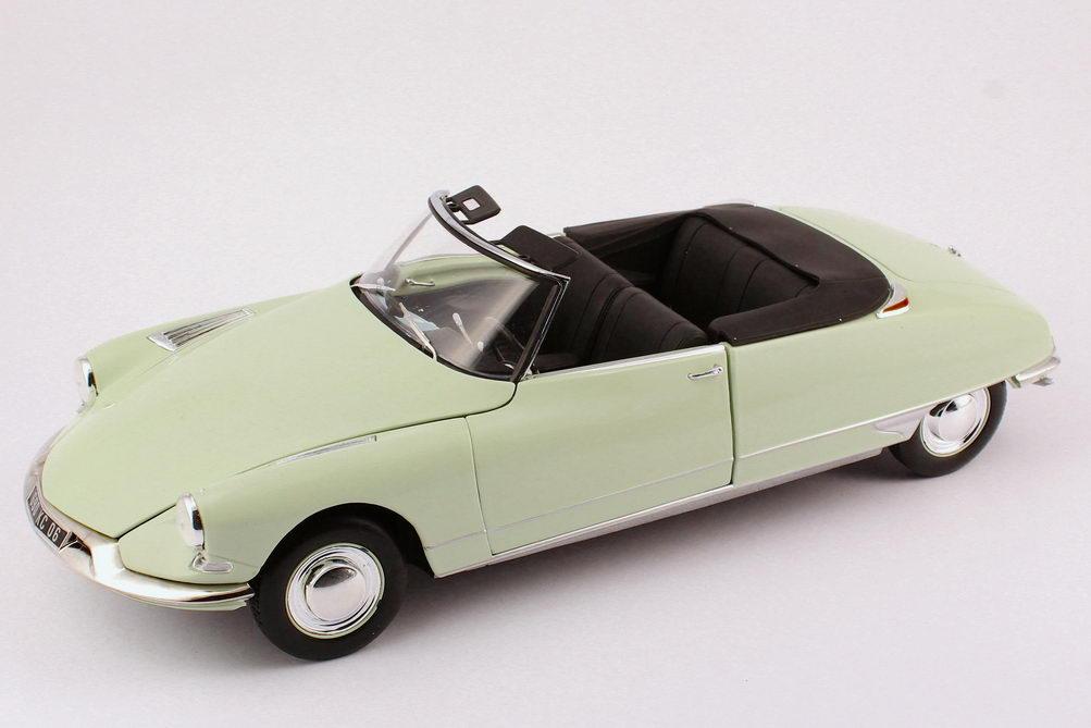 1 18 citroen ds 19 cabrio 1961 carrare wei hell mint. Black Bedroom Furniture Sets. Home Design Ideas