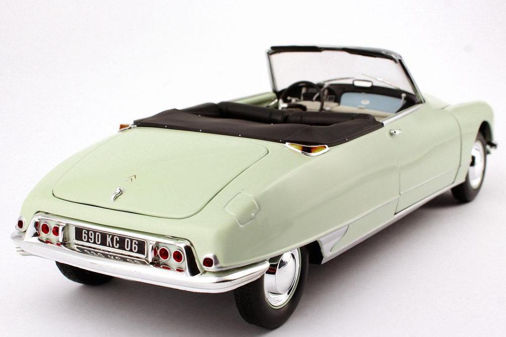 citroen ds 19 cabrio 1961 carrare wei hell mint gr n. Black Bedroom Furniture Sets. Home Design Ideas
