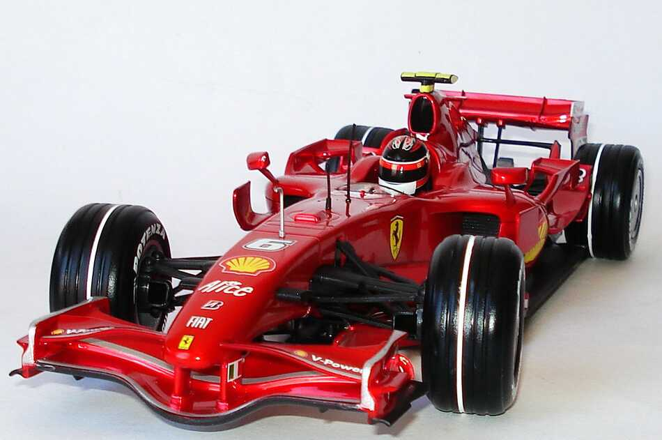 ferrari f2007 formel 1 2007 nr 6 kimi r ikk nen weltmeister hotwheels n4658 bild 2. Black Bedroom Furniture Sets. Home Design Ideas