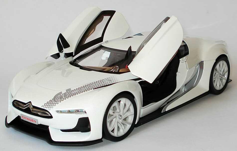 gt by citroen concept car autosalon paris 2008 wei norev 181610 bild 7. Black Bedroom Furniture Sets. Home Design Ideas