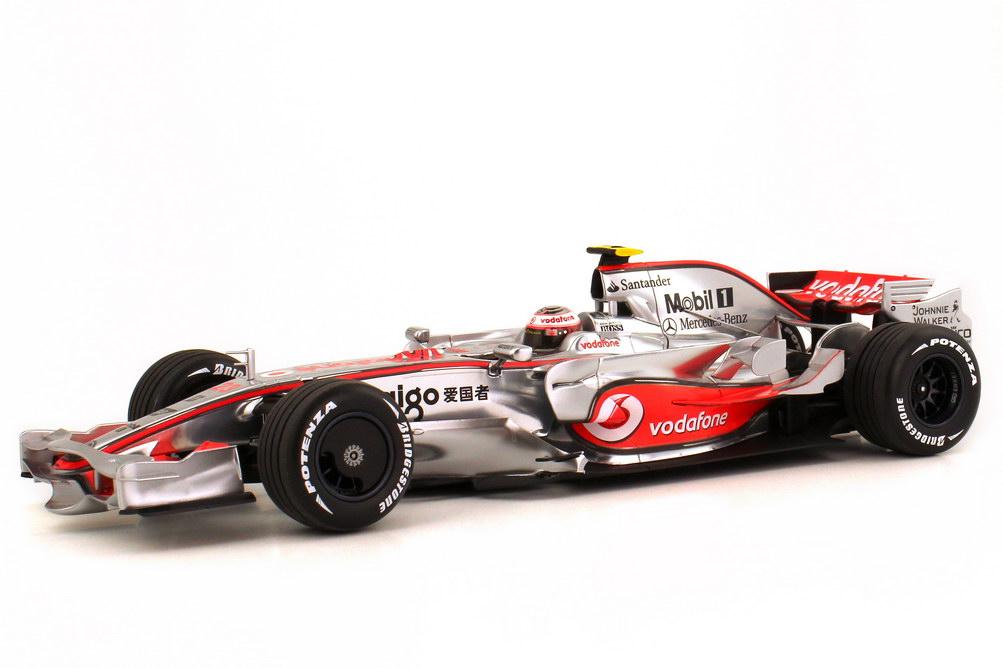 1 18 mclaren mercedes mp 4 23 formula 1 2008 kovalainen. Black Bedroom Furniture Sets. Home Design Ideas