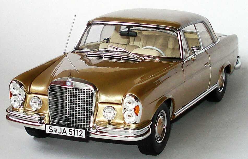 mercedes benz 280se coup w111 beige met werbemodell norev b66040546 bild 2. Black Bedroom Furniture Sets. Home Design Ideas