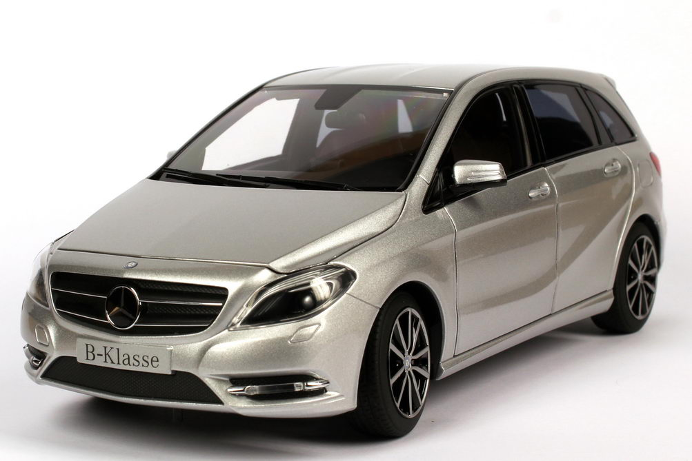 mercedes benz b klasse w246 polar silber met. Black Bedroom Furniture Sets. Home Design Ideas