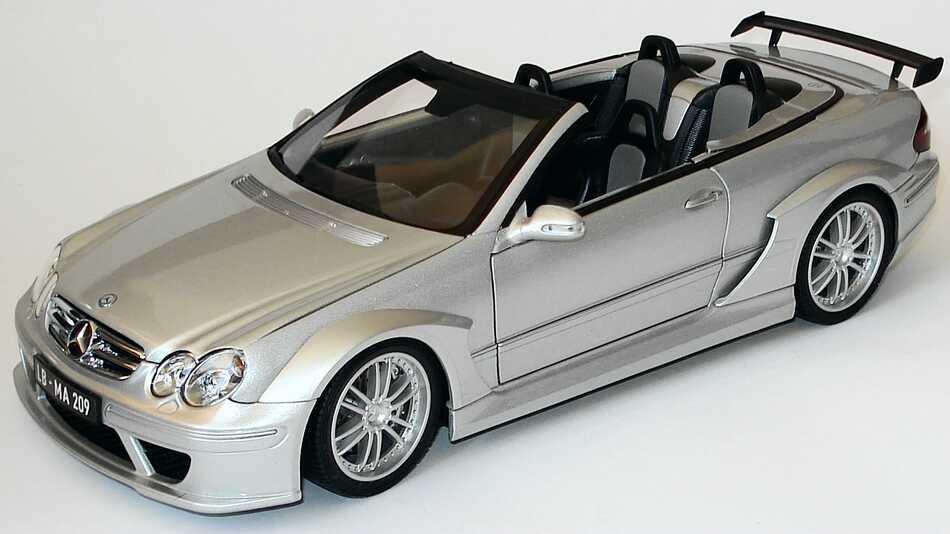 1 18 mercedes clk dtm amg cabrio silber dealer edition ebay. Black Bedroom Furniture Sets. Home Design Ideas