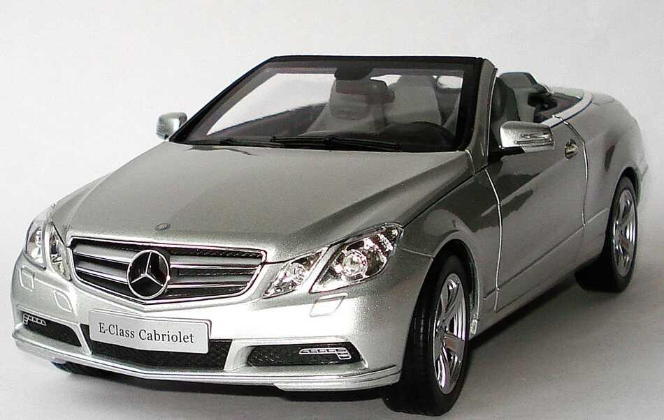 1 18 mercedes e klasse cabrio a207 iridiumsilber silver ebay. Black Bedroom Furniture Sets. Home Design Ideas