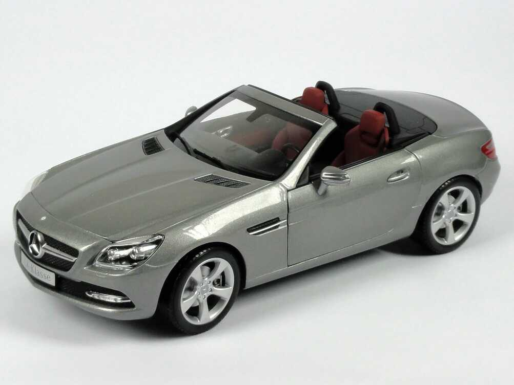 mercedes benz slk r172 paladium silber met werbemodell. Black Bedroom Furniture Sets. Home Design Ideas