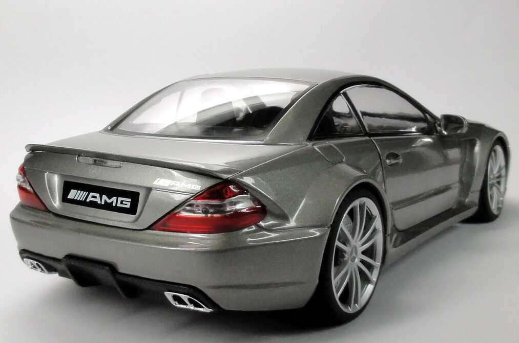Mercedes benz sl 65 amg black series r230 modell 2008 for M i motors
