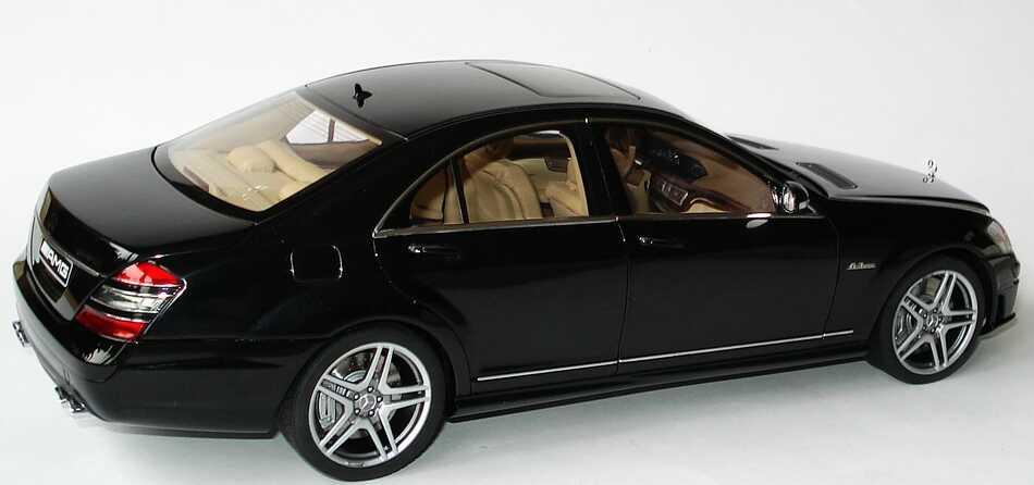 Mercedes Benz S 63 Amg W221 Schwarz Autoart 76242 Bild 4