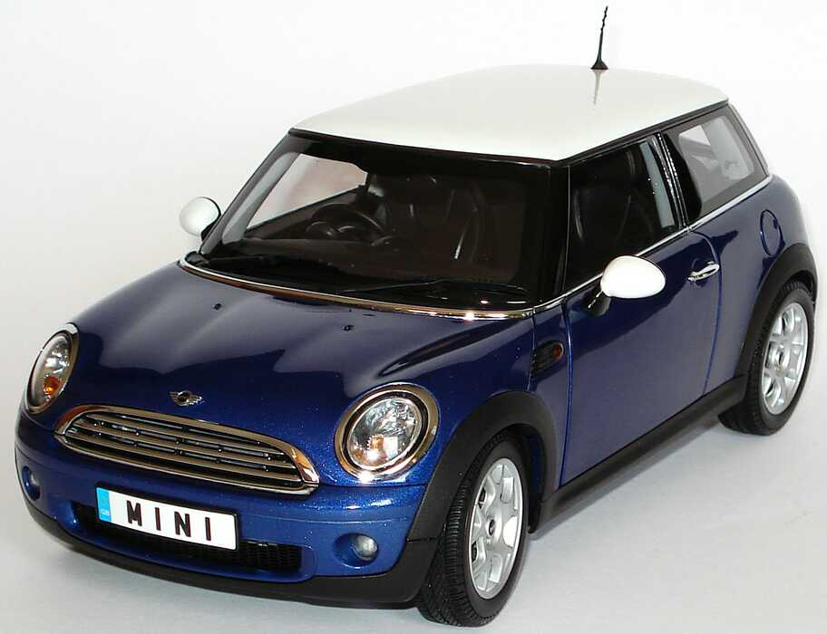mini cooper 2006 lightningbluemet dach wei. Black Bedroom Furniture Sets. Home Design Ideas