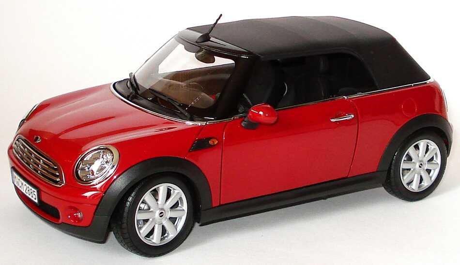 mini cooper cabrio r57 2009 chilired werbemodell kyosho 80432148810 bild 4. Black Bedroom Furniture Sets. Home Design Ideas