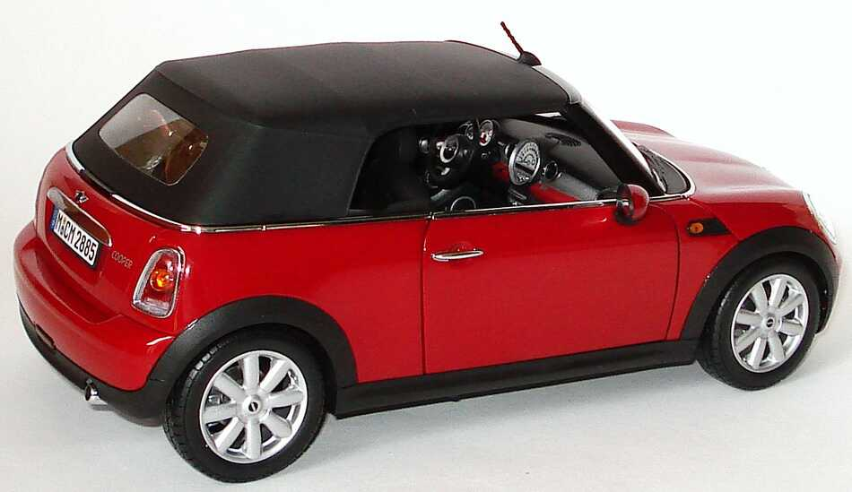 mini cooper cabrio r57 2009 chilired werbemodell kyosho 80432148810 bild 5. Black Bedroom Furniture Sets. Home Design Ideas