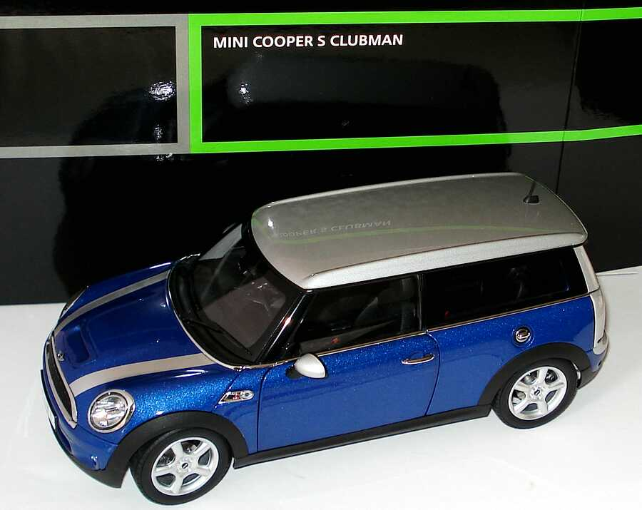 1 18 mini cooper s clubman lightningbluemet rechtslenker. Black Bedroom Furniture Sets. Home Design Ideas
