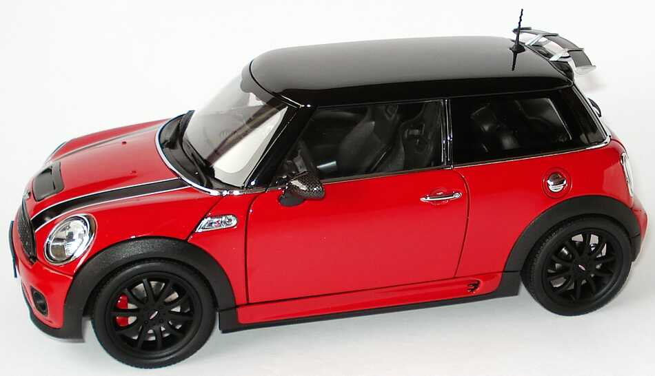 mini cooper s r56 john cooper works tuning rot schwarz werbemodell kyosho 80430419909 bild 3. Black Bedroom Furniture Sets. Home Design Ideas