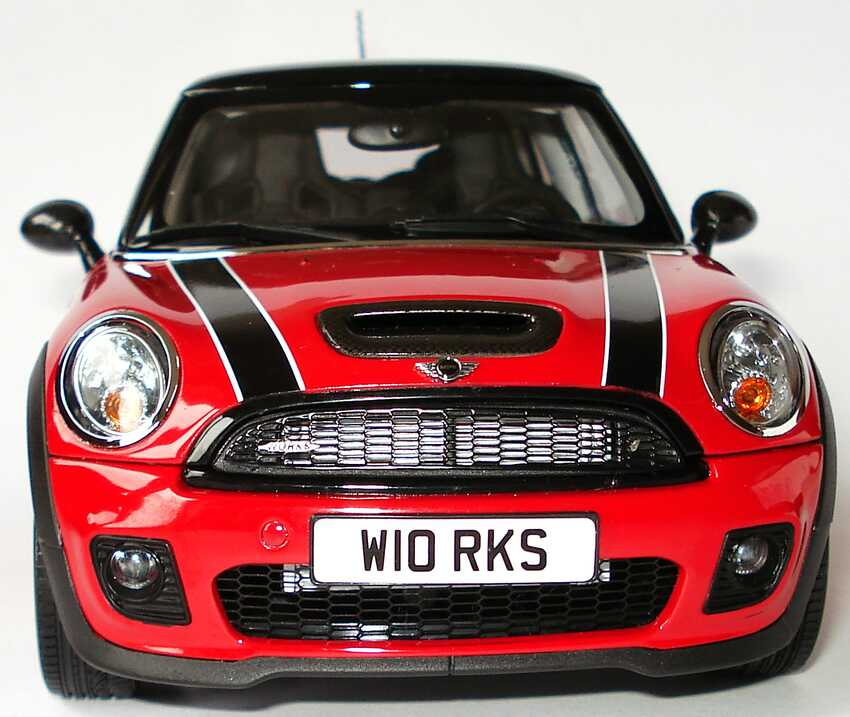 mini cooper s r56 john cooper works tuning rot schwarz werbemodell kyosho 80430419909 bild 4. Black Bedroom Furniture Sets. Home Design Ideas