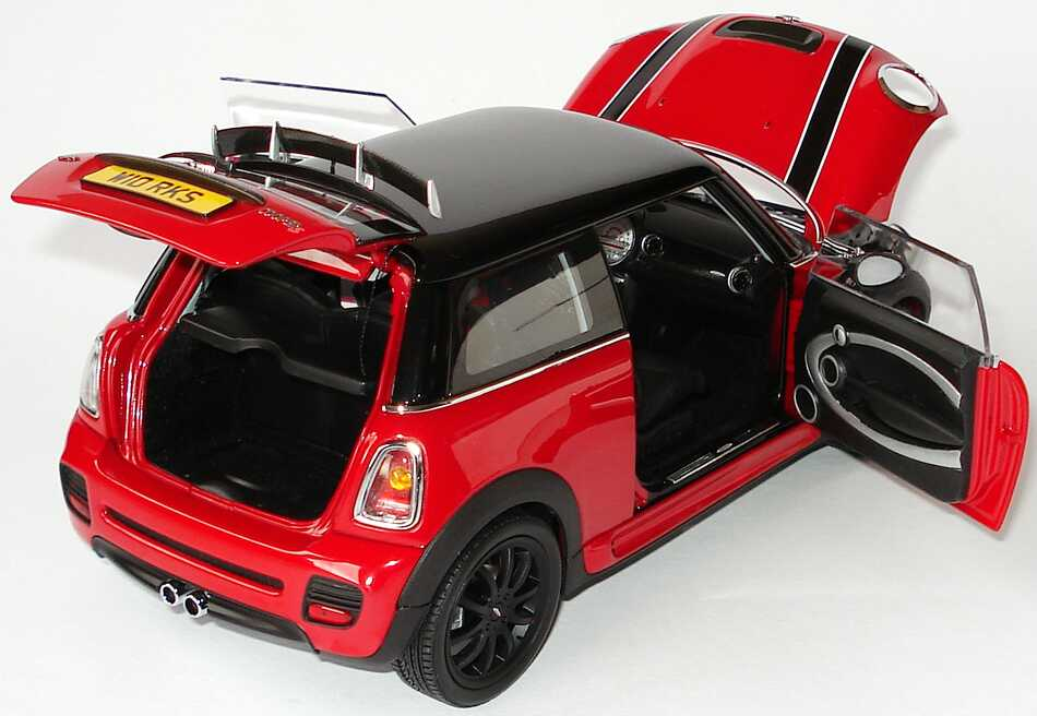 mini cooper s r56 john cooper works tuning rot schwarz. Black Bedroom Furniture Sets. Home Design Ideas