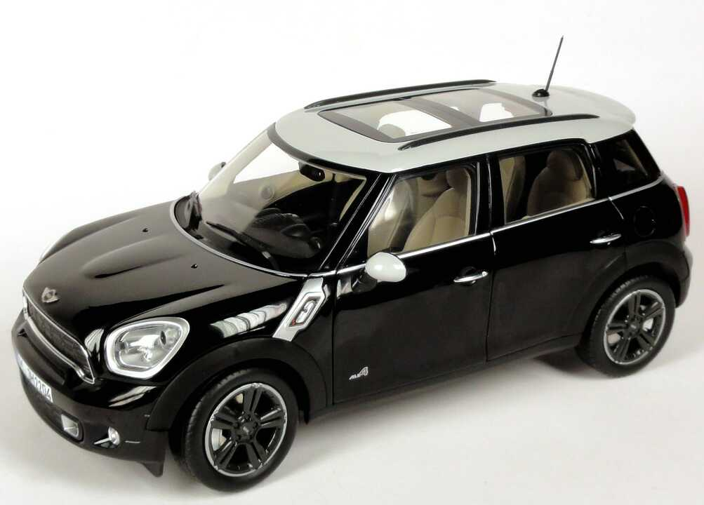 1 18 mini countryman cooper s all4 r60 absolute black. Black Bedroom Furniture Sets. Home Design Ideas
