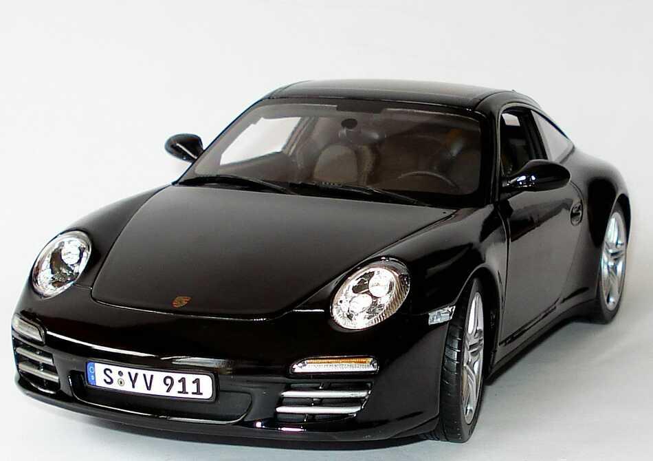 porsche 911 targa 4s 997 modell 2009 schwarz norev. Black Bedroom Furniture Sets. Home Design Ideas