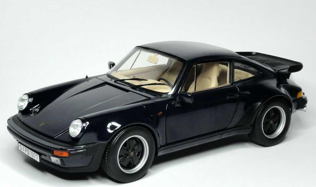 1 18 porsche 911 turbo 3 3 dunkelblau norev 187540. Black Bedroom Furniture Sets. Home Design Ideas