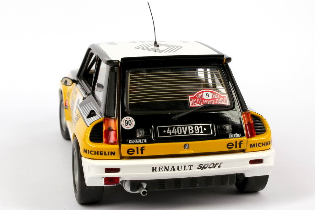 renault r5 turbo rallye monte carlo 1981 renault elf nr 9 ragnotti andri siegerfahrzeug. Black Bedroom Furniture Sets. Home Design Ideas
