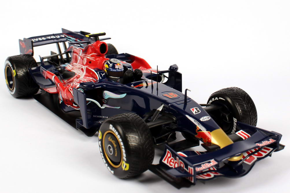 toro rosso str3 formel 1 2008 red bull sebastian. Black Bedroom Furniture Sets. Home Design Ideas