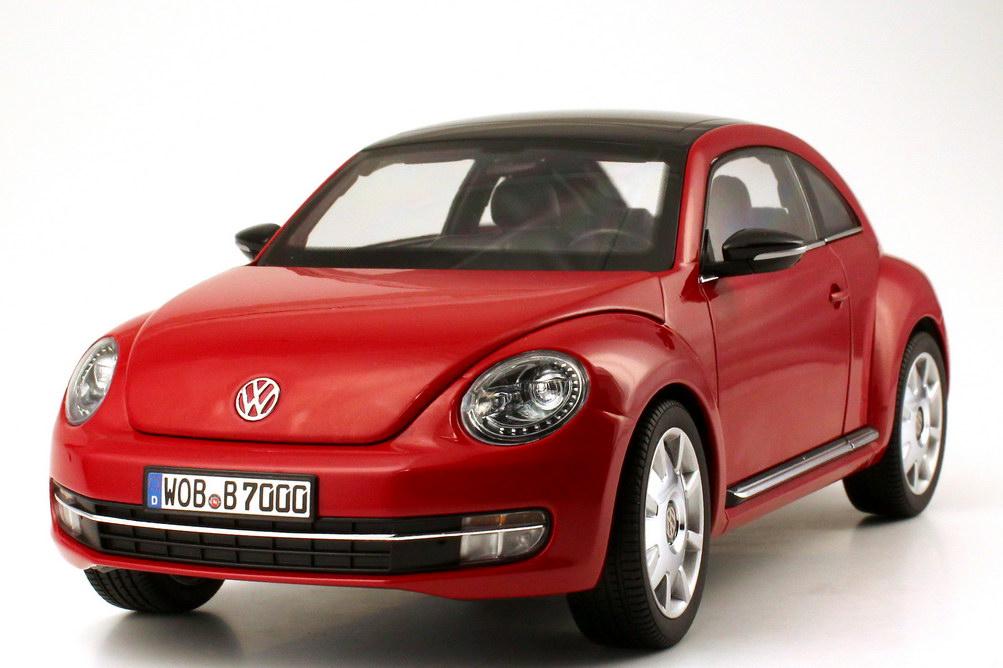 1 18 Vw Beetle 2011 Tornado Rot Red Volkswagen Dealer