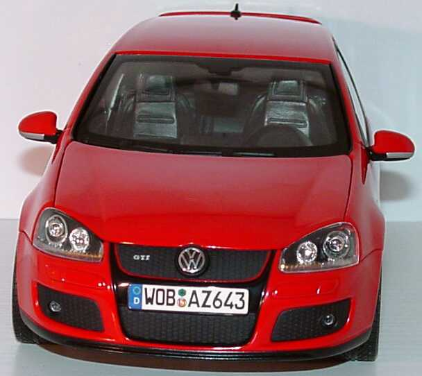 vw golf v gti 2t rig tornadorot werbemodell norev. Black Bedroom Furniture Sets. Home Design Ideas