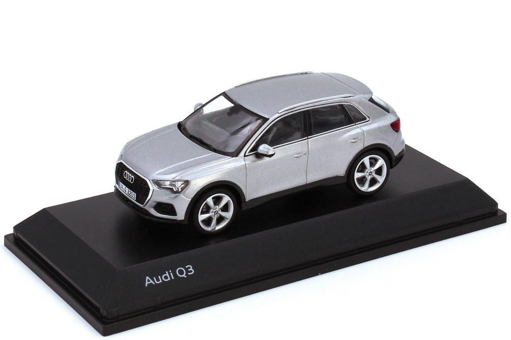 1:43 Audi Q3 (Typ F3) florettsilber-met. (Audi)