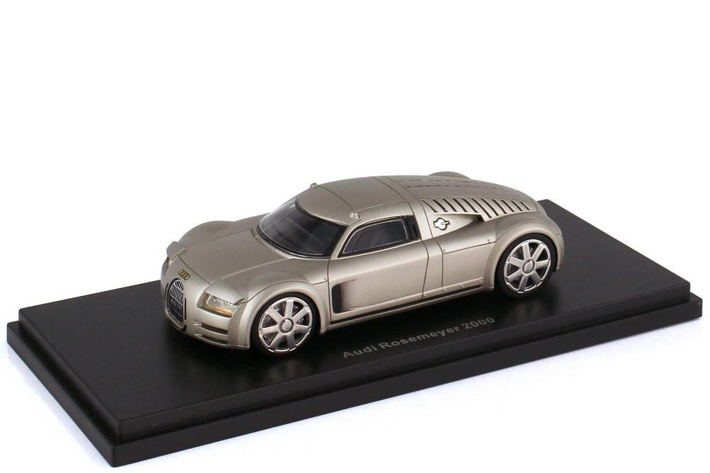 1:43 Audi Rosemeyer Konzeptstudie 2000 aluminiumsilber