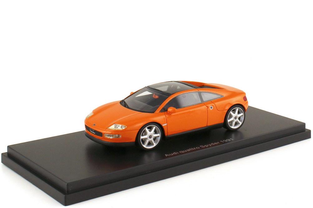 1:43 Audi quattro Spyder fidschi-orange